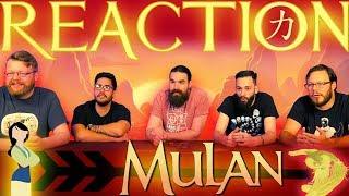Disney's Mulan   Official Teaser REACTION!!