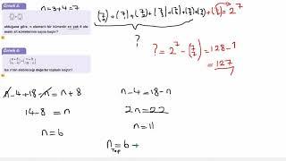 Eğitim Vadisi 10.Sınıf Matematik 3.Föy Sayma ve Olasılık 1 Konu Anlatım Videoları
