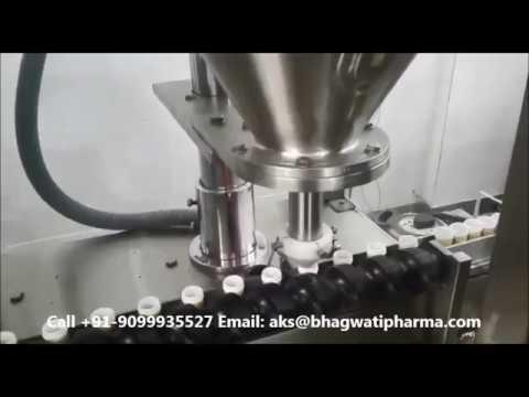 Jar Bottle Spice Powders Filling Machine