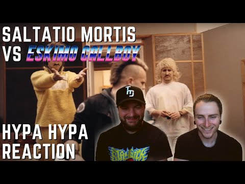 Two Guitar Noobs React to SALTATIO MORTIS vs. ESKIMO CALLBOY | HYPA HYPA