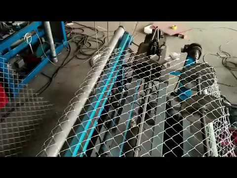 Double Chain Link Wire Machine