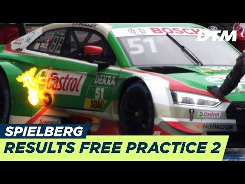 Results & Highlights Free Practice 2 - DTM Spielberg 2018