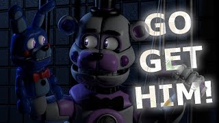 [C4D FNaF] BON BON, GO GET HIM! | Animation Short