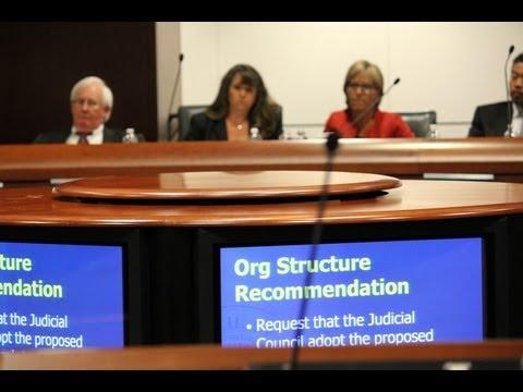 Judicial Council Hears Recommendations on SEC Report