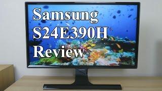 Samsung S24E390HL review (E390 vs. D390 & D590)