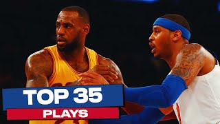 LeBron James Top 35 Plays | NBA Career Highlights