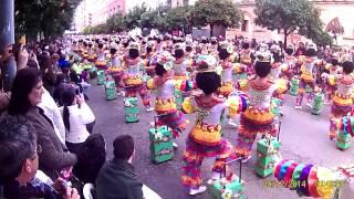 preview picture of video 'Desfile Comparsas Badajoz 2015- La Kochera'
