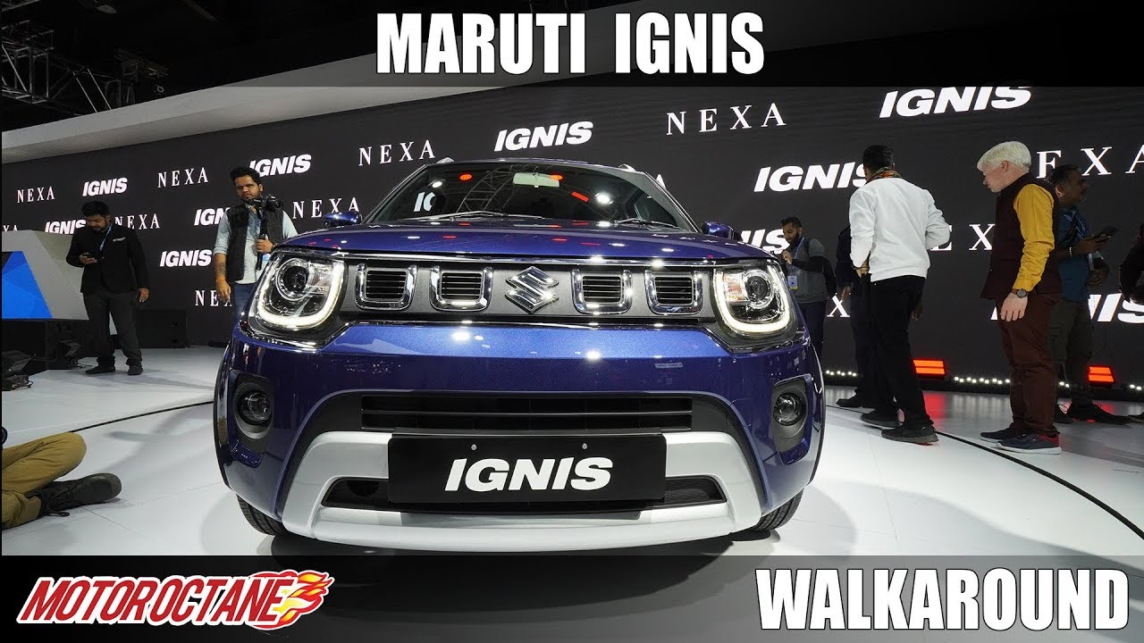 Motoroctane Youtube Video - Maruti Ignis - SUV Looks! | Auto Expo 2020 | Hindi | Motoroctane