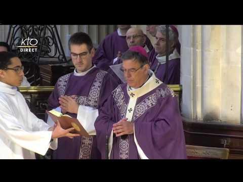 Messe du Mercredi des Cendres à Saint-Germain-L'Auxerrois