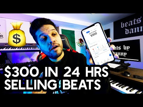How I made $300 in 24 Hours Selling Beats On Instagram   STEP BY STEP   How To Sell Beats Online