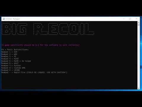 Rust: NO RECOIL SCRIPTS OR RECOIL CONTROL - смотреть онлайн