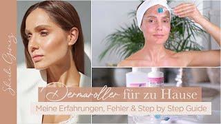 Dermaroller für zu Hause | Anwendung & Tipps für eine schöne Haut | Fehler vermeiden | Sheila Gomez
