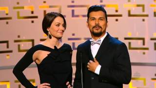 Эрика Дюранс, Erica Durance presenting at the Canadian Screen Awards