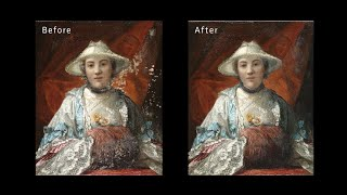Restoration of a Fire-Damaged Painting