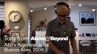 Tony McGuinness - Live @ A&B's Argentina debut 2006: Recreated 2020
