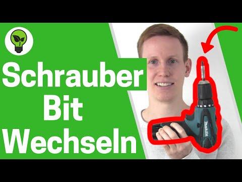 Akkuschrauber Bit wechseln ✅ ULTIMATIVE ANLEITUNG: Bit von Akkuschrauber einsetzen & einspannen!!!