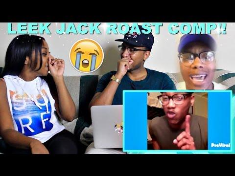 Couple Reacts : Leek Jack Roast Rap Compilation Reaction!!!!
