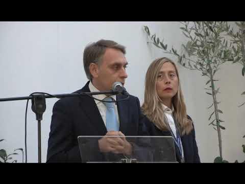 IL SINDACO DI PIEVE DI TECO ALESSANDRO ALESSANDRI PLAUDE ALL' ARMO – CANTARANA