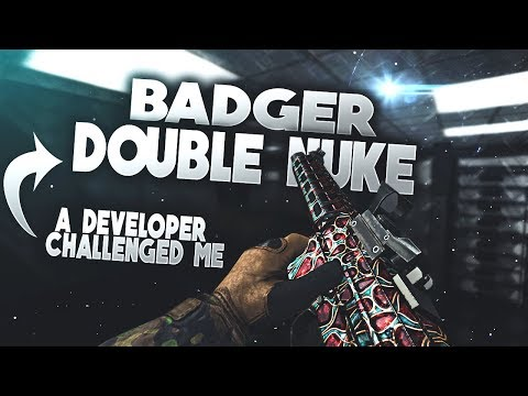 [Bullet Force] Badger Double Nuke - A developer challenged me