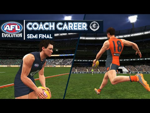 SEMI FINAL - AFL Evolution Coach Career
