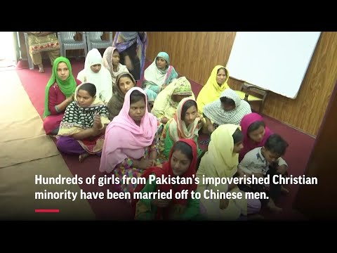 Poor Pakistani Christian girls lured into marriages with Chinese men end up trapped in China, unable to return home. (May 7)
