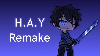 H.A.Y Meme Remake (Extended Ending!) ~ BLOOD AND FLASH WARNING ~ Gacha Life