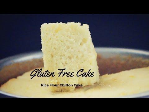 Video Gluten Free Chiffon Cake Recipe(100% Gluten Free Rice Flour Cake)