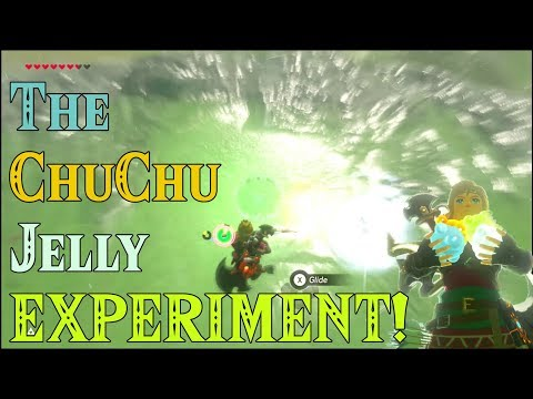 The ChuChu Jelly EXPERIMENT! Chemistry Class in Zelda Breath of the Wild