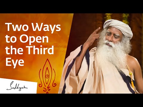How to Open the Third Eye?   Sadhguru Answers