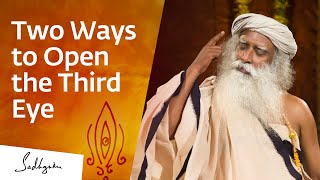 How to Open the Third Eye? | Sadhguru Answers