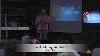 The Disobedience of Unbelief