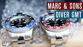Marc & Sons Diver GMT - besser als Steinhart?
