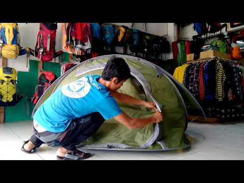 tutorial bongkar pasang tenda pop up Tocubic