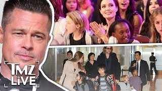 Brad & Angelina: The War Over The Kids | TMZ Live