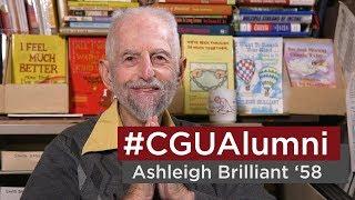 #CGUAlumni: Ashleigh Brilliant