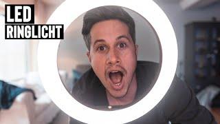 Günstiges Ringlicht (LED) für deine Videoblogs | mit Stativ für Schminkvideos und Videoblogs