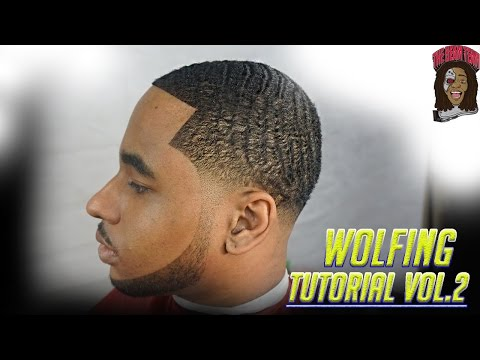 Barber Tutorial: How To Cut A Wolfing Client Vol.2 (Ez Blade Shaving Gel)