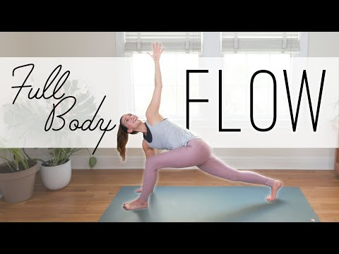 , title : 'Full Body Flow  |  20 Min. Yoga Practice  |  Yoga With Adriene'