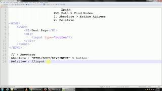Xpath Basic | Absolute Xpath - Selenium WebDriver Tutorial 8