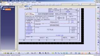 CATIA V5 Title Block Automation