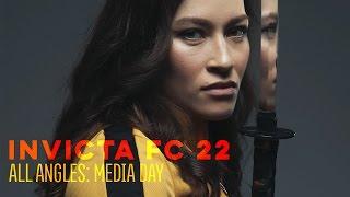 Invicta FC 22: All Angles - Media Day