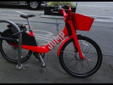 Uber Charges $25 if JUMP Bikes Leave 'Bike Zone'