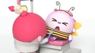 Малышарики - новые серии -  Зубастик. Идем к стоматологу (151 серия) Мультики про доктора, про врача