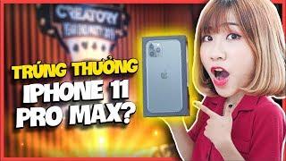 DI DI QUAY SỐ TRÚNG THƯỞNG 1 CHIẾC IPHONE 11 PRO MAX 512GB?