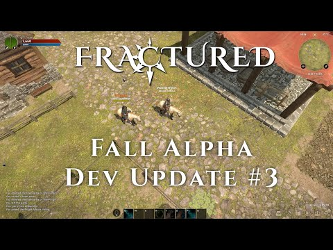 Fractured - With Five Days Until Fall Alpha - 3Rd Update Video Depicts New Health and Farming Challenges