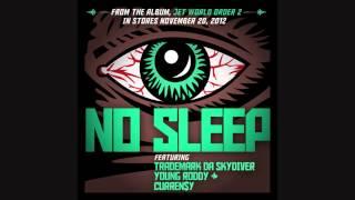 "Jet Life - ""No Sleep"" (feat. Trademark Da Skydiver, Young Roddy & Curren$y) NEW 2012"