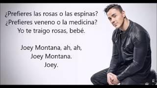 Rosas O Espinas[LETRA] Joey Montana