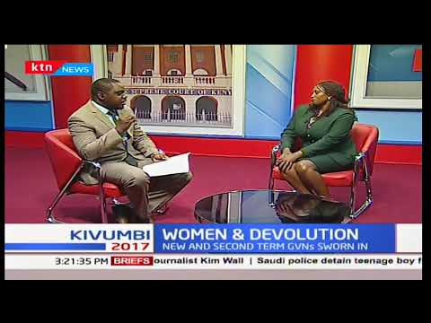Women and Devolution : Opportunities for business in counties