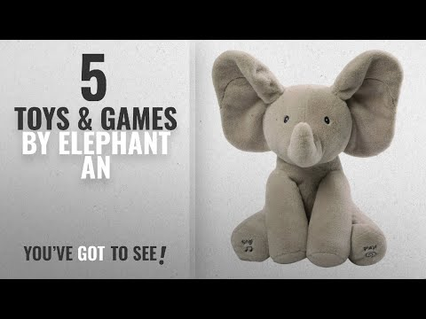 Top 10 Elephant An Toys & Games [2018]: Gund Baby Animated Flappy The Elephant Plush Toy