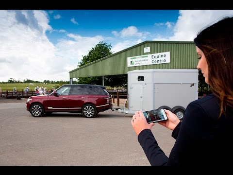 Land Rover Cargo Sense and Transparent Trailer
